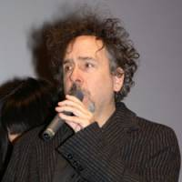 Master class: Tim Burton speaking in Tokyo in March, during a visit to attend the premiere of his 'Alice in Wonderland.'