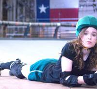 Rolling on: Ellen Page hits the rowdy rink as Babe Ruthless in 'Whip It.'   © 2009 BABE RUTHLESS PRODUCTIONS, LLC, ALL RIGHTS RESERVED