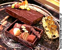 Treats from Decadence du Chocolat (above and below) will leave you hungry for more this Valentine's Day.