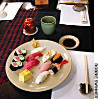 At Sushi Ouchi in Shibuya, you can tuck in with confidence, thanks to the strict quality criteria of the master, Hisashi Ouchi.