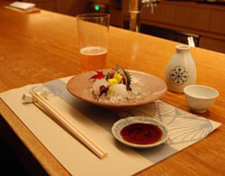 Maru serves up sashimi as fresh and beautifully presented as you could hope to find.