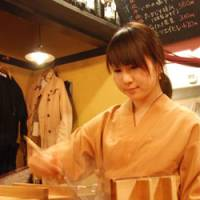 The selection of choices at the micro-restaurants range from Kyoto-style oden at Denraku (above) to yakitori and okonomiyaki pancakes.