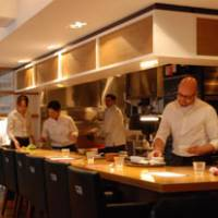 With sugar?: At Cujorl in Shibuya, the modern American cuisine includes playful touches, such as Mushroom Cappuccino.