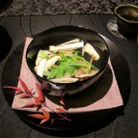 Suimono soup with snapper