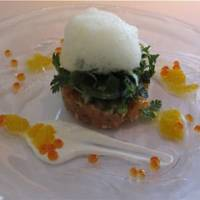 Italian dishes are imbued with a Kyoto sensibility by star chef Yasuhiro Sasajima at Il Ghiottone Cucineria.
