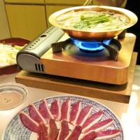 Fitting the bill: The centerpiece of the menu at Chikutei is kamo-shabu, duck hot pot cooked at the table.