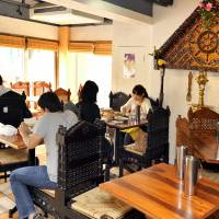 Currying favor: Nirvanam's popularity with Indian expats hints at its authenticity.