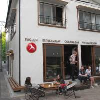 Fuglen: Serve yourself at an Oslo import