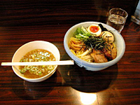 Ramen gets an update at Afuri (above); and thirst for good draft beer is quenched at Aldgate in Shibuya (below) and Towers in Yaesu.