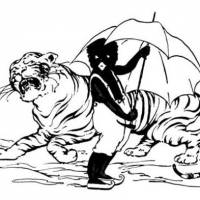 Racist?: In later editions, particularly in the U.S., the eponymous hero of 'Little Black Sambo' was depicted as African.    ILLUSTRATION BY FLORENCE WHITE WILLIAMS