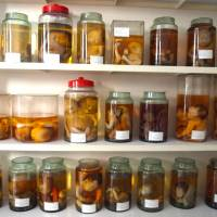 Young victims: Jars holding deformed babies in formaldehyde are stacked floor to ceiling in a room at Tu Du Hospital, Ho Chi Minh City.      JON MITCHELL