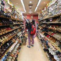 Hunting for big-foot: Large shoes tough to track down in Tokyo