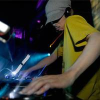 Glass beats: DJ100mado spins tunes at Back To Chill, a monthly dubstep event in Shibuya, Tokyo.