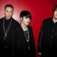 xx-rated: Oliver Sim, Romy Madley Croft and Jamie Smith comprise British rock band The xx.