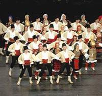 Serbian ensemble tells tales through dance