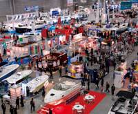 Making waves: Last year's boat show had fans of the sea going overboard.