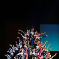Acrobatic troupe flips in from China