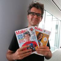 Made man: Mark Frauenfelder, editor-in-chief of Make magazine,  was recently in Tokyo to spread the word on the maker movement. | KAZUAKI NAGATA