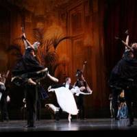 Reaching the heights: The New National Theatre Ballet performing 'La Dame aux Camelias' in September 2009. | HIDEMI SETO PHOTO