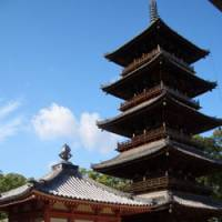 Only 10 temples left to go: Motoyama-ji, in Kagawa Prefecture, with the five-storied pagoda that was built by Kobo Daishi and restored in 948, is temple 70 on the Shikoku pilgrimage.