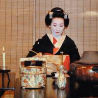 Memory lanes: Old friend Manami when she was a Gion geisha. | LESLEY DOWNER PHOTO