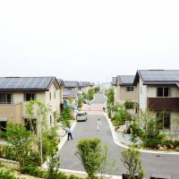 Daiwa House's model community a study in power self-sufficiency