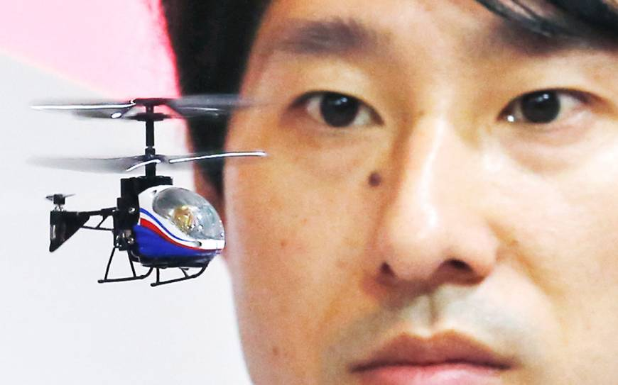 Choppers, phones, tablets steal scene at Tokyo Toy Show