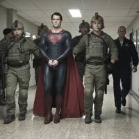 'Truth, Justice, American way': Superman, played by Henry Cavill, is taken into military custody in 'Man of Steel.' The movie is scheduled to fly into Japanese theaters on Aug. 30. Warner Bros. | WARNER BROS. PICTURES/AP