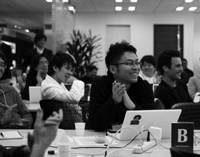 People gather at Tokyo Startup Weekend.