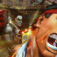 Step into my world: A screen shot from Capcom's 'Street Fighter x Tekken.'