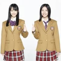 Play school: Rena Matsui and Jurina Matsui, two members of idol group SKE48, recruited to promoted the Xbox 360 Kinect