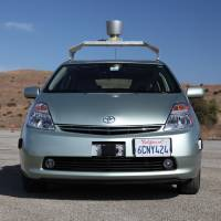 Backseat driver: Google's self-driving car is just one of many autonomous vehicles being developed in an effort to make roads safer and more efficient.   BLOOMBERG