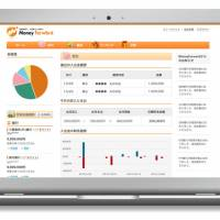 The Money Forward service pulls the user's financial information into one place to make it easier to manage accounts.