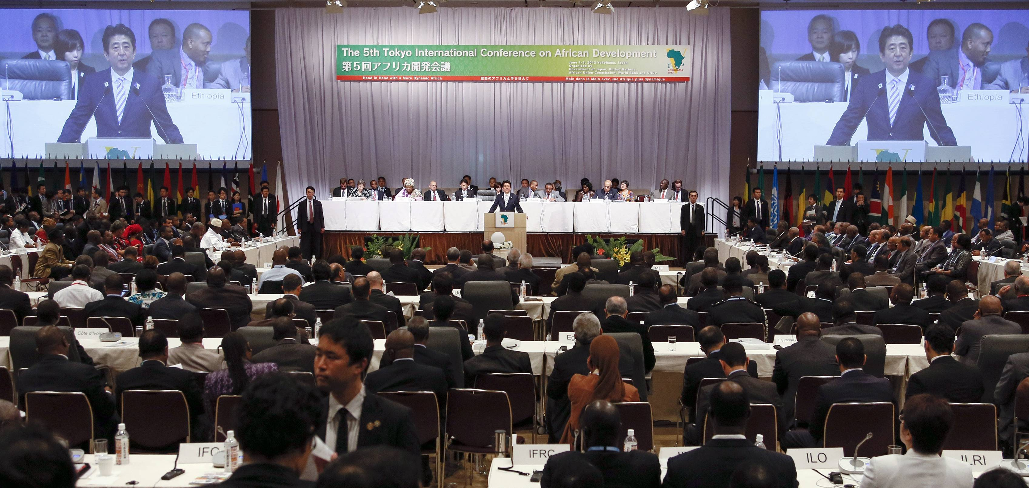 Japan urged to play more visible role on continent