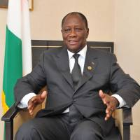 Cote d'Ivoire leader makes case for broader ties