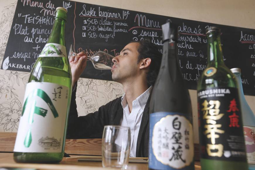 Chablis step aside — sake starting to please the palates of the French
