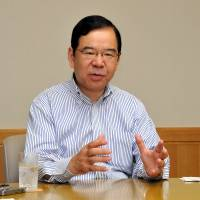 JCP chief tabs party as bulwark against Abe plans