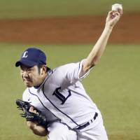 Lefty starter Kikuchi thriving for Lions