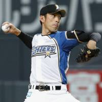 Kisanuki tosses complete game; Fighters cruise to fifth straight win