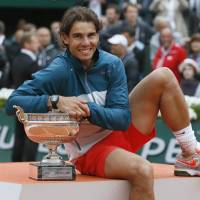 Nadal wins record eighth French Open
