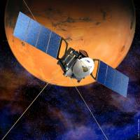 Built to last: This European Space Agency image shows the Mars Express in orbit. | AFP-JIJI