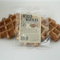 Caffeine vehicle: Wired Waffles have had $30,000 in sales since last fall.   THE WASHINGTON POST