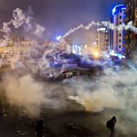 Calm returns to scene of  Turkey's violent protests