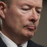 Touting transparency: Gen. Keith Alexander, director of the National Security Agency, testifies during a Senate hearing in Washington on Wednesday. | AFP-JIJI
