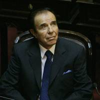 Argentine ex-President Menem given seven years for arms smuggling
