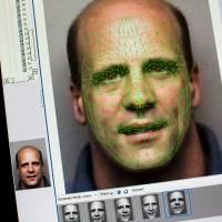 Facing up: The facial-mapping program used by the Pinellas County Sheriff's Office in Clearwater, Florida, is one of the most advanced facial-recognition programs available to law enforcement in the United States. | THE WASHINGTON POST