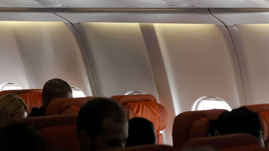 Gone to ground?: A seat believed reserved by fugitive U.S. spy Edward Snowden remains empty Monday on Cuba-bound jetliner at an airport in Moscow. | REUTERS/KYODO
