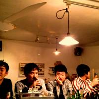 Old influences: Bands such as Sloppy Joe (left) pay homage to their influences in a way that Japanese crowds in particular respond to.