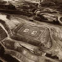 Monumental Pop: Vik Muniz worked with a Brazilian mining company to produce a series of Land Art works, including 'Outlet (Pictures of Earthworks).'