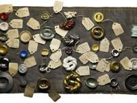 Small inspirations: A sample of Issey Miyake's collection of ceramic buttons by Lucie Rie | HIROSHI IWASAKI (STASH)